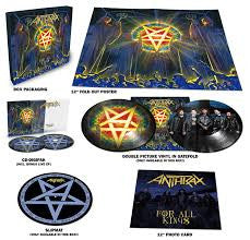 ANTHRAX-FOR ALL KINGS 2LP+2CD BOXSET *NEW*