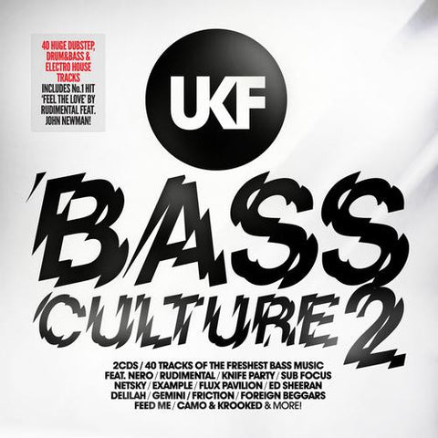 UKF BASS CULTURE 2 VA 2CDS *NEW*