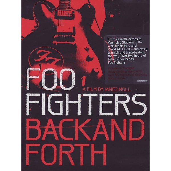 FOO FIGHTERS-BACK AND FORTH DVD *NEW*