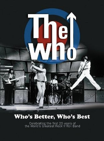 WHO THE-WHOS BETTER WHOS BEST DVD *NEW*