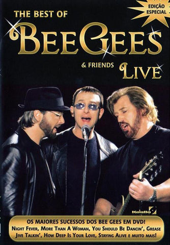 BEE GEES-BEST OF BEE GEES AND FRIENDS LIVE DVD *NEW*