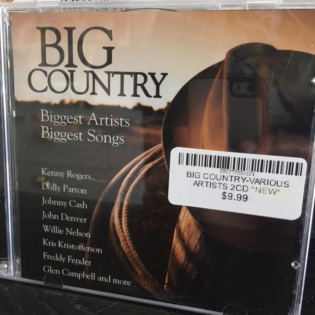 BIG COUNTRY-VARIOUS ARTISTS 2CD *NEW*