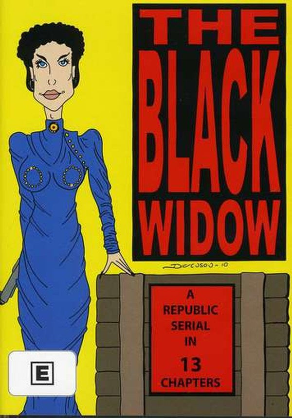 THE BLACK WIDOW 1947 DVD *NEW*