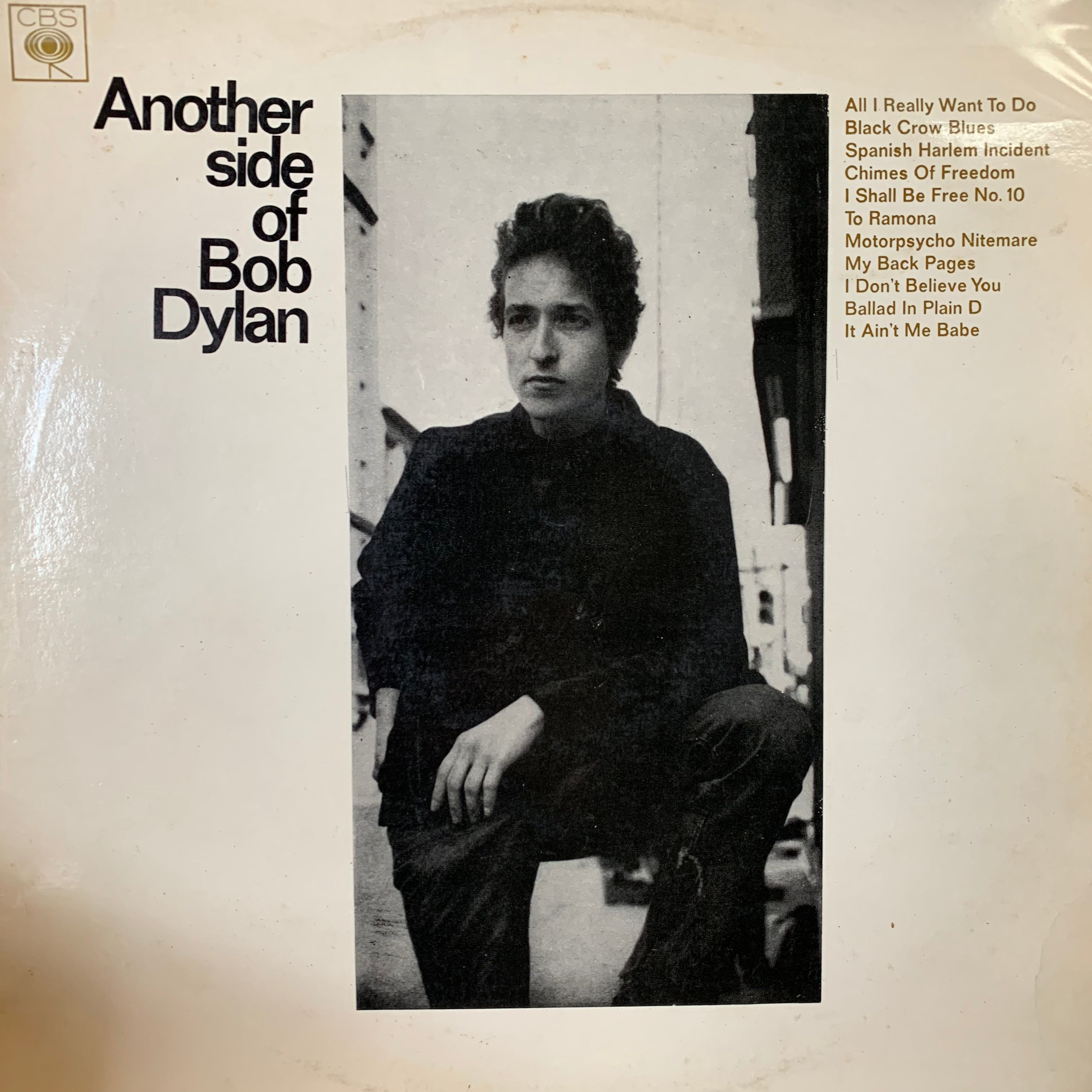 DYLAN BOB-ANOTHER SIDE OF BOB DYLAN LP NM COVER VG+