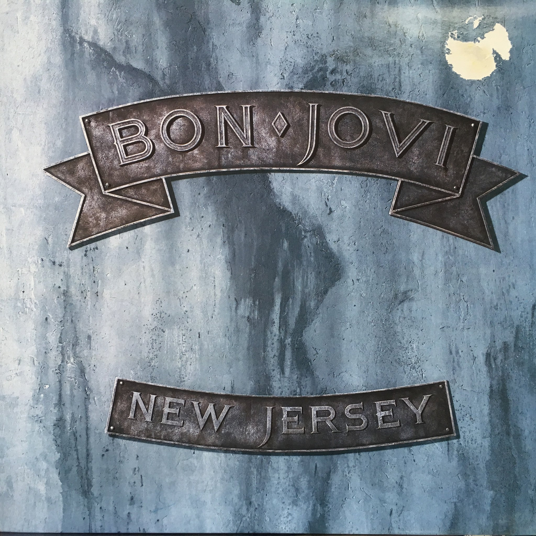 Bon jovi new jersey lp ex cover g relics music for New jersey house music
