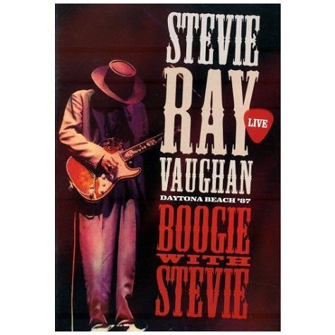 VAUGHAN STEVIE RAY-BOOGIE WITH STEVIE DVD *NEW*