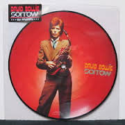 "BOWIE DAVID-SORROW 7"" PICTURE DISC NM COVER EX"