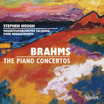 BRAHMS-THE PIANO CONCERTOS 2CDS STEPHEN HOUGH *NEW*
