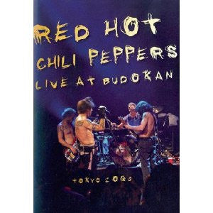 RED HOT CHILI PEPPERS-LIVE AT BUDOKAN DVD *NEW*