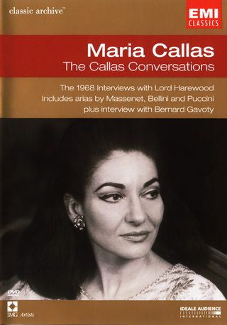 CALLAS MARIA-THE CALLAS CONVERSATIONS DVD *NEW*
