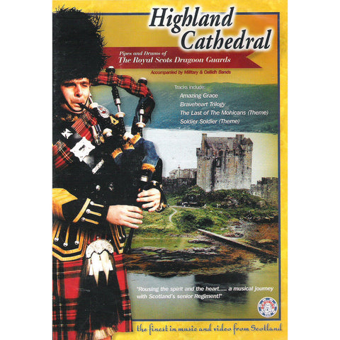 ROYAL SCOTS DRAGOON GUARDS-HIGHLAND CATHEDRAL DVD *NEW*
