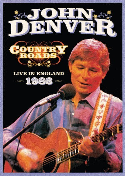 DENVER JOHN-COUNTRY ROADS LIVE ENGLAND DVD *NEW*