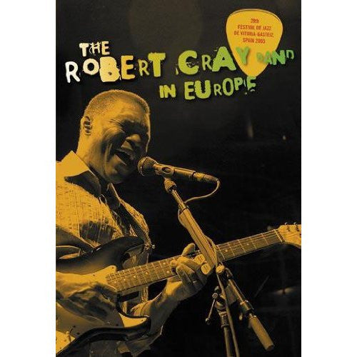 CRAY ROBERT BAND-IN EUROPE DVD *NEW*