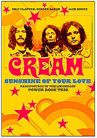 CREAM-SUNSHINE OF YOUR LOVE DVD *NEW*