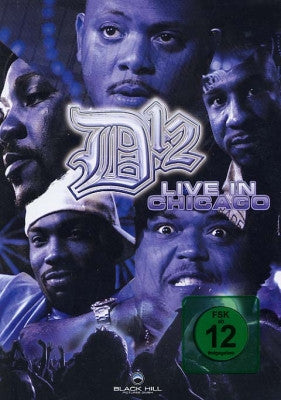 D12-LIVE IN CHICAGO DVD *NEW*