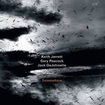 JARRETT PEACOCK DE JOHNETTE-SOMEWHERE CD *NEW*