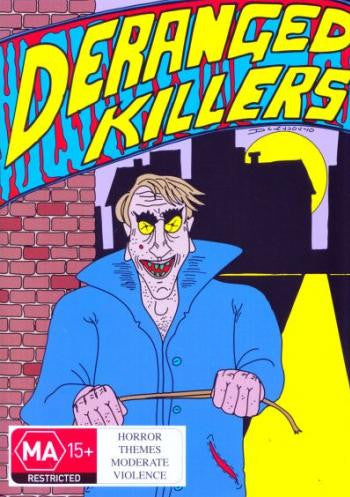 DERANGED KILLERS DVD *NEW*