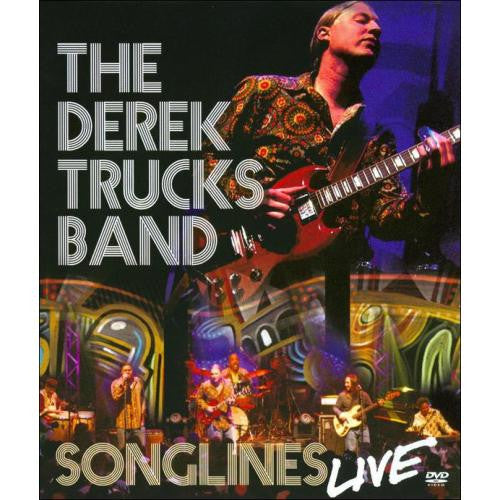 TRUCKS DEREK BAND-SONGLINES LIVE DVD *NEW*