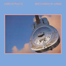 DIRE STRAITS-BROTHERS IN ARMS LP + TOUR PROGRAMME EX COVER VG+