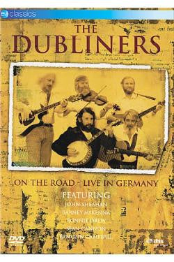 DUBLINERS THE-ON THE ROAD LIVE GERMANY DVD *NEW*