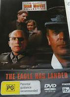 THE EAGLE HAS LANDED ZONE 2 DVD VG