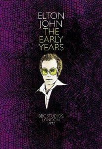 JOHN ELTON-THE EARLY YEARS DVD *NEW