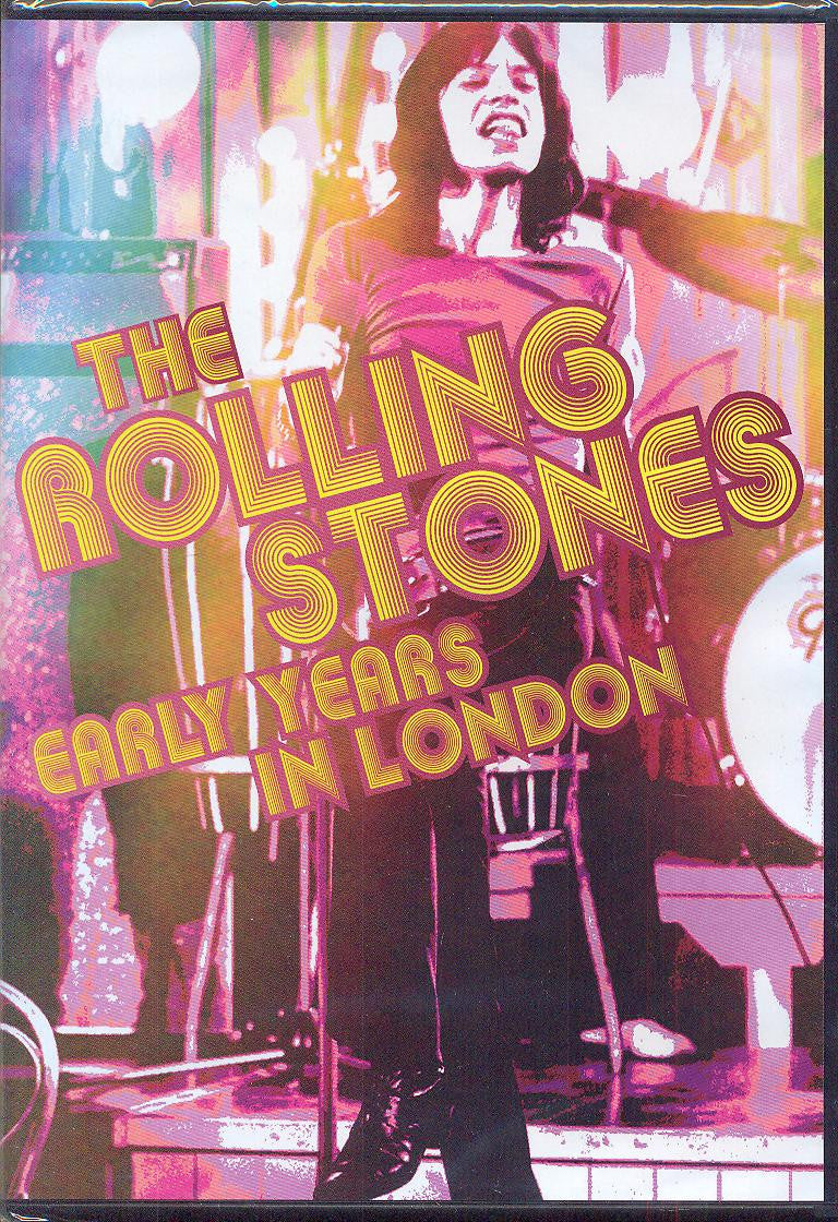 ROLLING STONES THE-EARLY YEARS IN LONDON DVD *NEW*