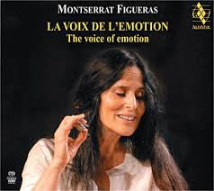 FIGUERAS MONTSERRAT-THE VOICE OF EMOTION COVER MARKED *NEW*