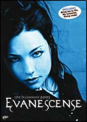 EVANESCENCE-LIVE IN GERMANY 2003 DVD *NEW*