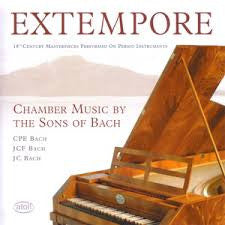 EXTEMPORE-CHAMBER MUSIC BY THE SONS OF BACH *NEW*