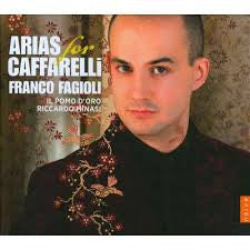 FAGIOLI FRANCE-ARIAS FOR CAFFARELLI *NEW*