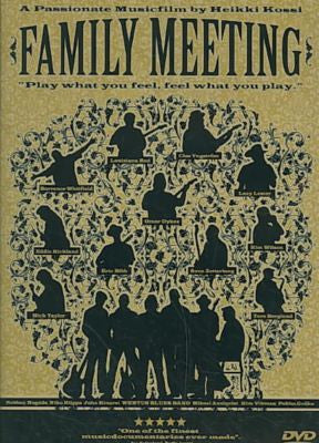 FAMILY MEETING-VARIOUS ARTISTS DVD *NEW*