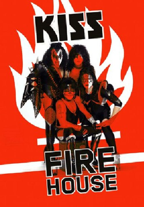 KISS-FIREHOUSE DVD *NEW*