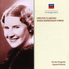 FLAGSTAD KIRSTEN-SINGS NORWEGIAN HYMNS *NEW*