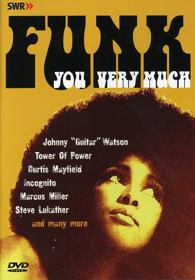 FUNK YOU VERY MUCH-VARIOUS ARTISTS DVD *NEW*