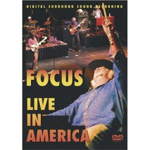 FOCUS-LIVE IN AMERICA DVD *NEW*