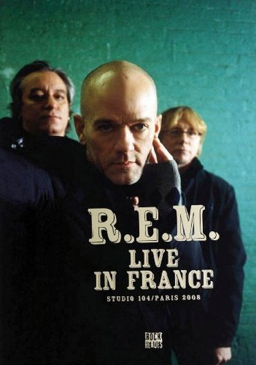 R.E.M.-LIVE IN FRANCE DVD *NEW*