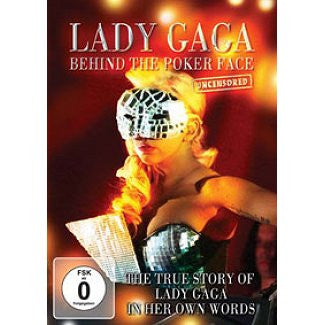 LADY GAGA-BEHIND THE POKER FACE DVD *NEW*