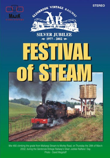 FESTIVAL OF STEAM SILVER JUBILEE DVD VG