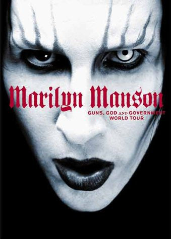 MARILYN MANSON-GUNS GOD AND GOVT DVD *NEW*
