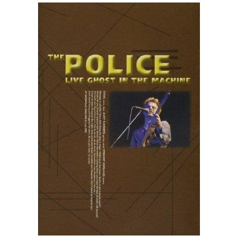POLICE THE-LIVE GHOST IN THE MACHINE DVD *NEW*