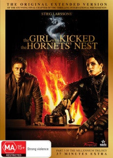 THE GIRL WHO KICKED THE HORNETS NEST DVD M