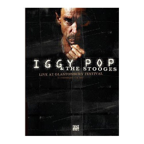 IGGY POP AND THE STOOGES-LIVE AT GLASTONBURY DVD *NEW*