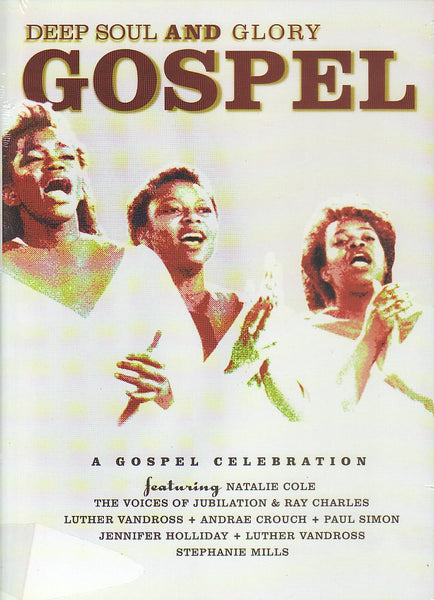 DEEP SOUL AND GLORY GOSPEL-VARIOUS ARTISTS DVD *NEW*