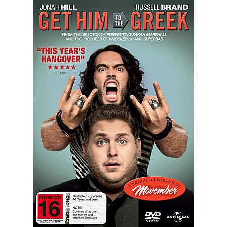 GET HIM TO THE GREEK DVD LN