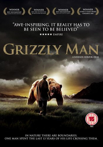 GRIZZLY MAN DVD M ZONE 2