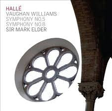 HALLE ELDER VAUGHAN WILLIAMS-SYMPHONY NO 5 NO 8 *NEW*