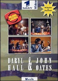 HALL DARYL AND OATES JOHN DVD *NEW*