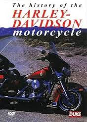 HISTORY OF THE HARLEY DAVIDSON MOTORCYCLE DVD M