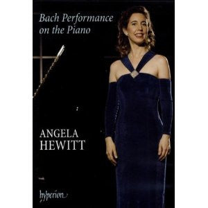 HEWITT ANGELA-BACH PERFORMANCE ON THE PIANO 2DVDS *NEW*